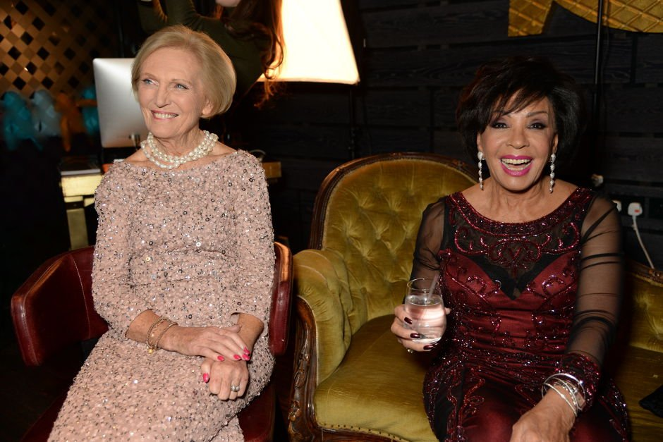 Mary Berry and Dame Shirley Bassey