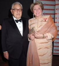 Barbara and Dr Henry Kissinger