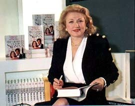 Barbara Taylor Bradford At the Frankfurt Book Fair in 1991