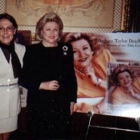 Barbara Taylor Bradford with Susan Zito of Bradford Enterprises at her New York postage stamp ceremony at LeCirque 2000