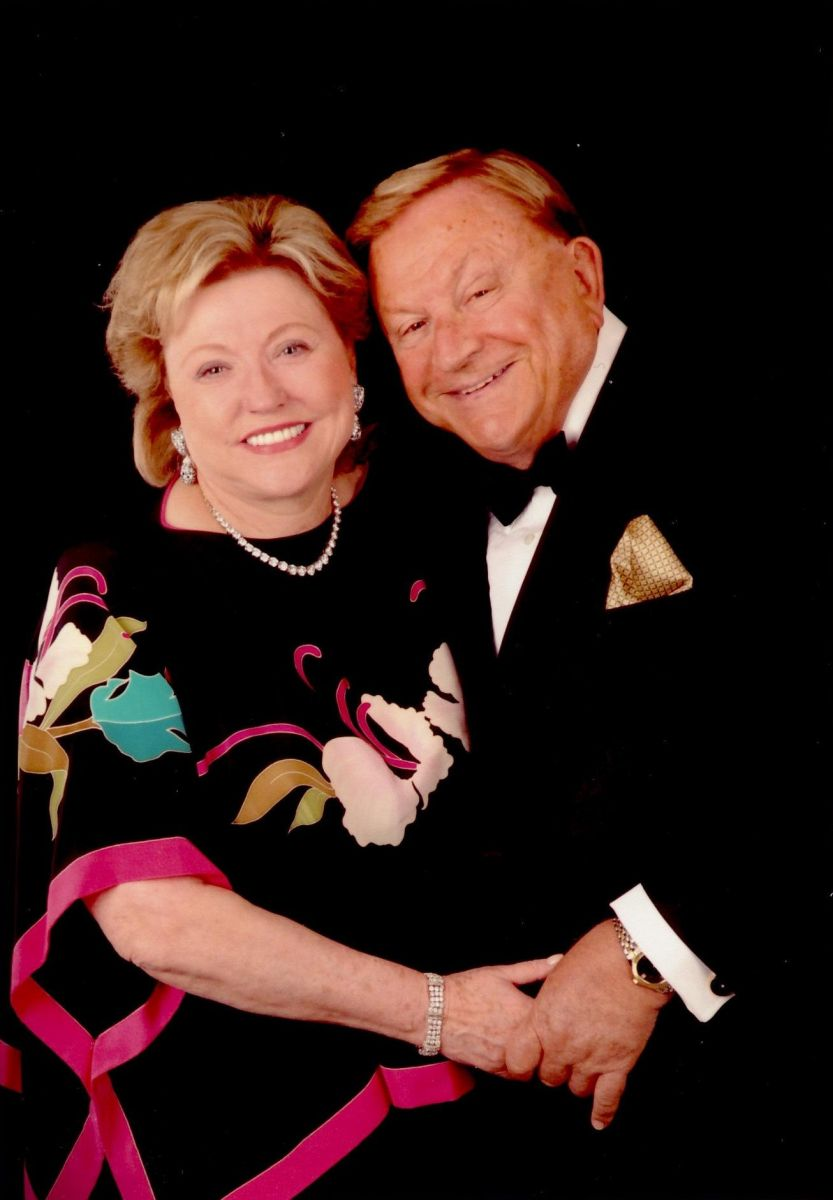 Bob and Barbara at a formal event 2010