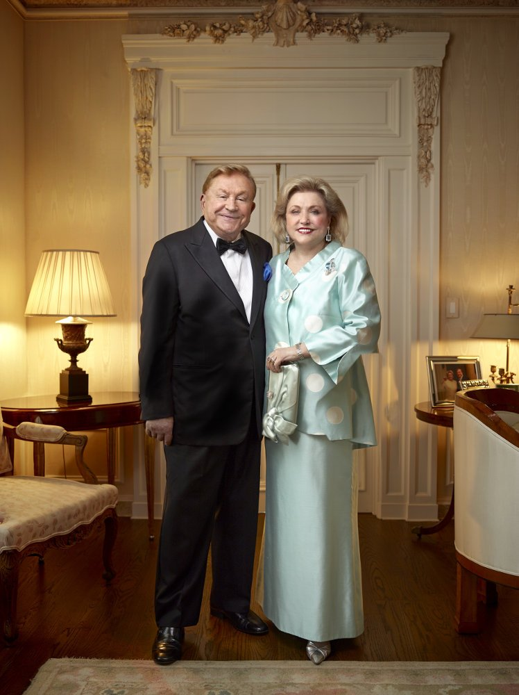 Barbara Taylor Bradford and Robert Bradford (credit Julian DuFort)