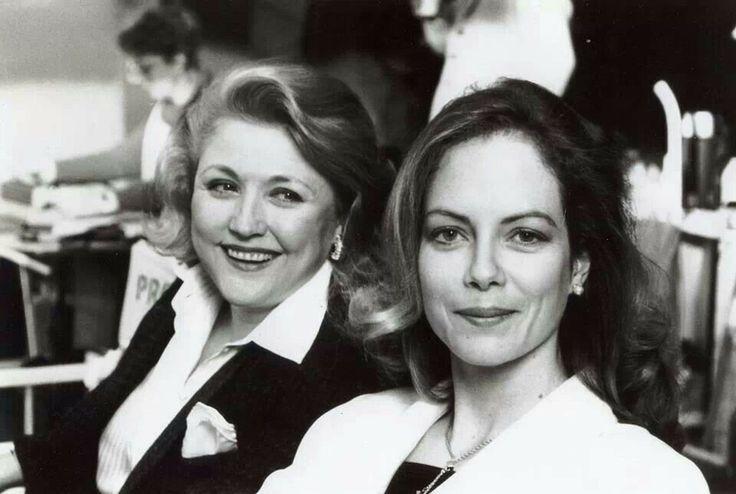 Barbara Taylor Bradford OBE and Jenny Seagrove