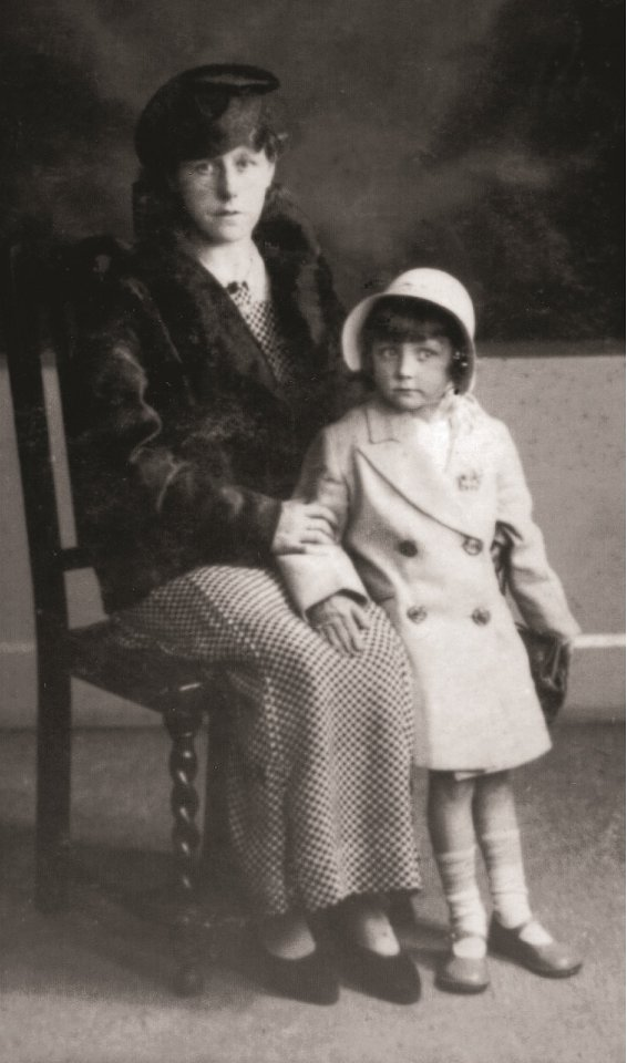 Barbara Taylor Bradford and her Mother