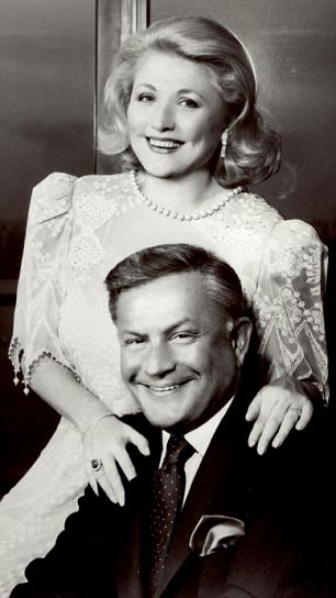 Barbara Taylor Bradford with her husband, Bob: The jewels that the author is to auction tell the story of the highs and lows of their 50-year love affair