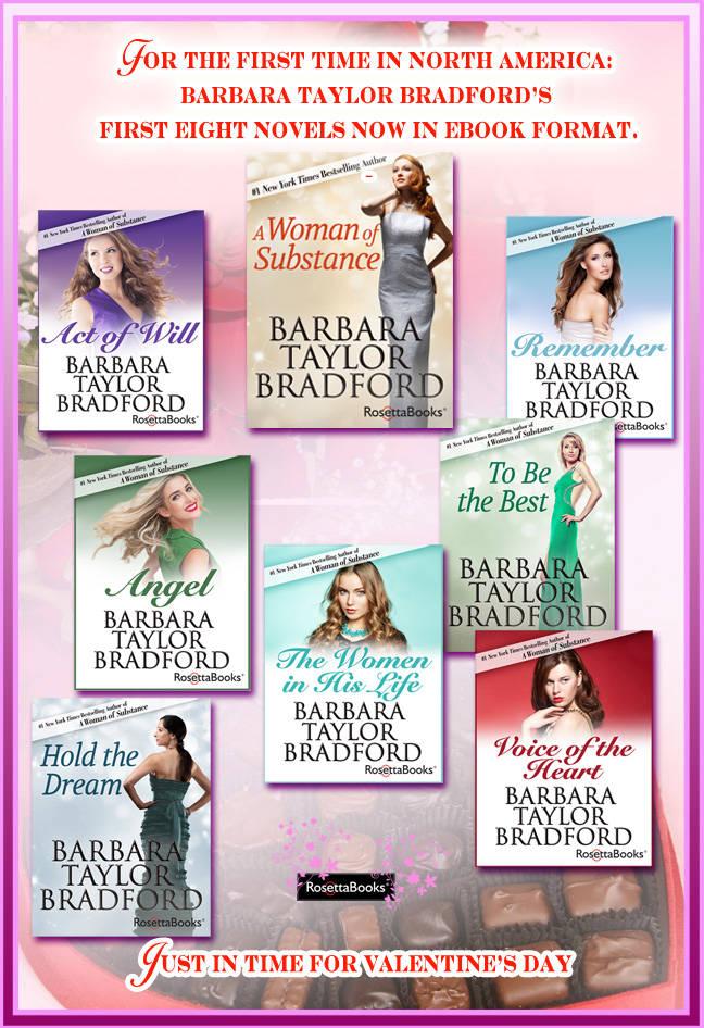 Barbara Taylor Bradford - Valentine's Day eBook Promotion