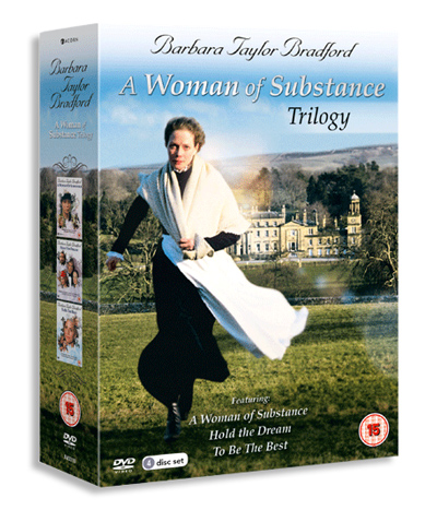 DVD Cover - A Woman of Substance Trilogy